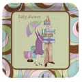 Parenthood Baby Shower Dessrt Plates   